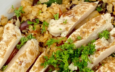 Recipe: Cauliflower Rice With Chicken