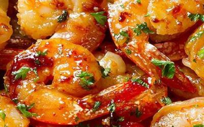 Recipe: Honey Lime Shrimp (Air Fried)